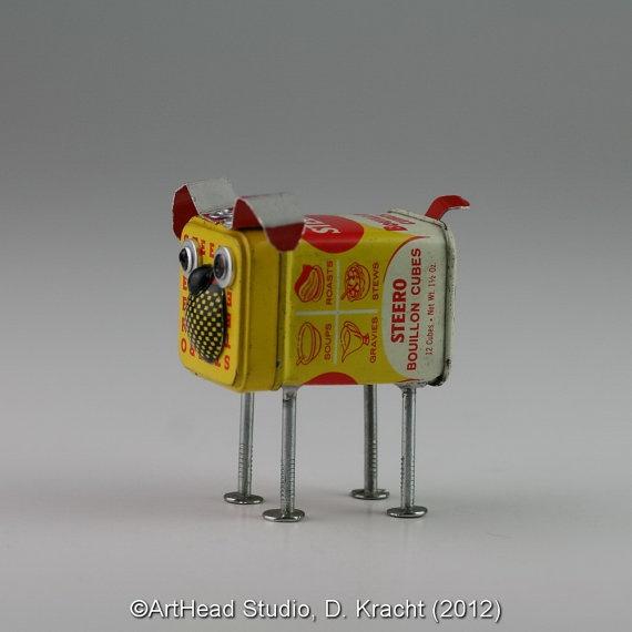 JunkYard Dog  Steero Bouillon Cubes by ArtHeadStudio