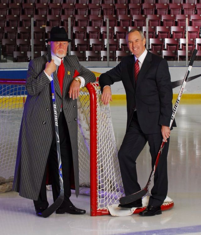 Ron MacLean & Don Cherry