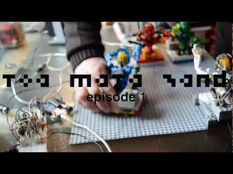 Robotic Lego Band Jam Together For First Time