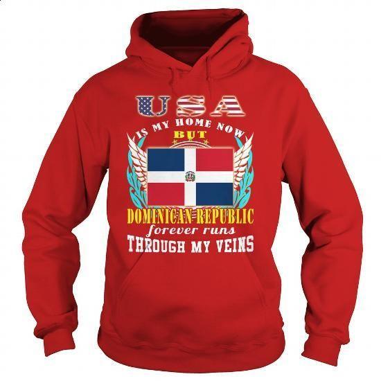 Dominican Republic-USA - #fashion #sweatshirts for women. SIMILAR ITEMS => https://www.sunfrog.com/LifeStyle/Dominican-Republic-USA-Red-Hoodie.html?60505