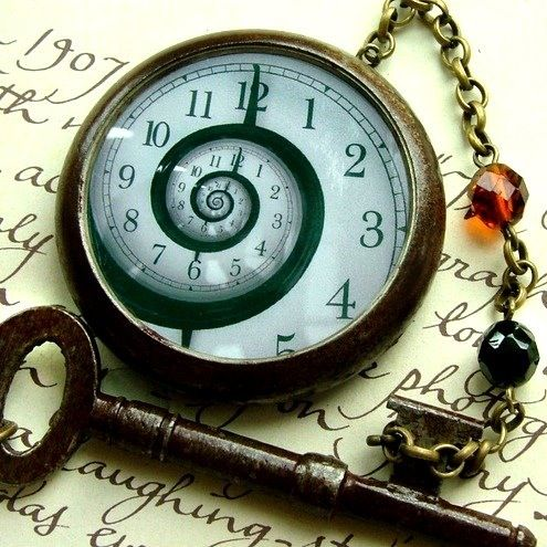 Down the rabbit hole Alice in Wonderland pocket watch