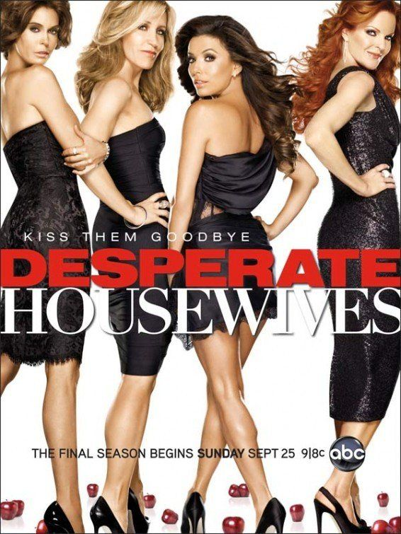 Desperate Housewives (2004–2012) Secrets and truths unfold through the lives of female friends in one suburban neighborhood, after the mysterious suicide of a neighbor.