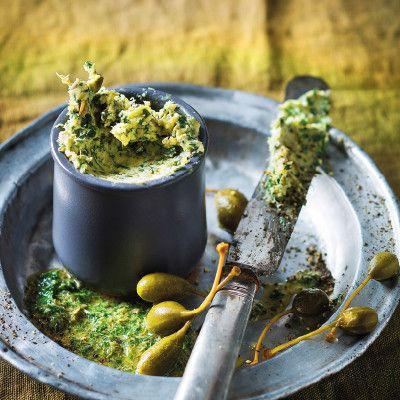 Taste Mag | Cafe de Paris butter @ http://taste.co.za/recipes/cafe-de-paris-butter/