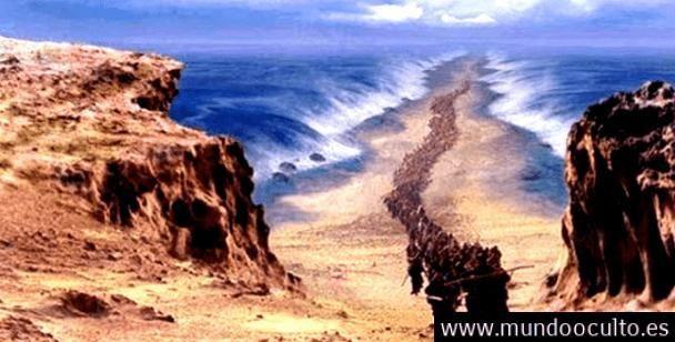 Confirman que Moisés SI cruzó el mar rojo después de hallar al ejército egipcio en el fondo del mar.
