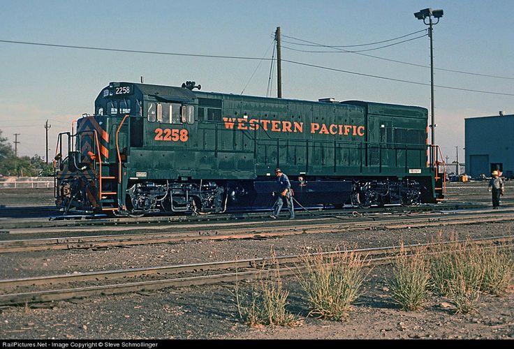 RailPictures.Net Photo: WP 2258 Western Pacific GE U23B at Stockton, California by Steve Schmollinger