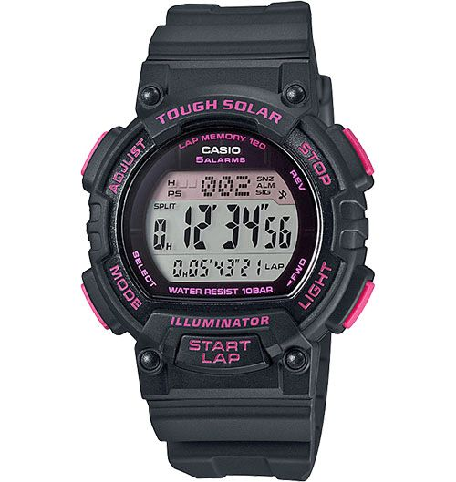Casio Tough Solar Running Watch Has Energy Even When You Dont