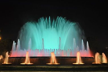 Magic Fountain of Montjuic, Barcelona, Spain