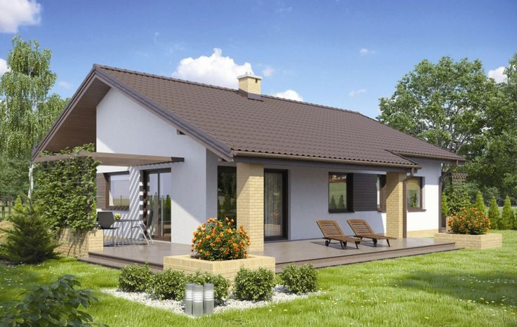 Mały dom to dobry wybór dla niewielkiej rodziny lub na małą działkę. Zobaczcie funkcjonalne domy, których powierzchnia nie przekracza 100 m².