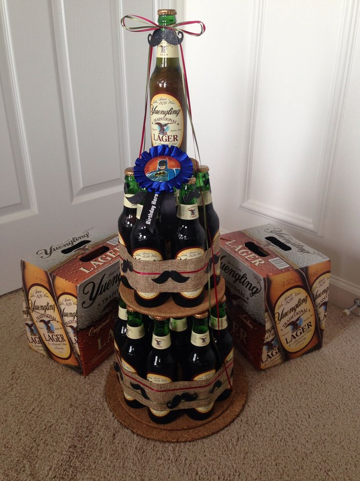 Yuengling beer cake I made my husband for his 26th birthday!!
