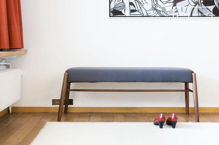 Sitzbank Larssön und vieles mehr bänke von PIB, Ihrem Spezialisten für Möbel, Beleuchtung und Dekoration im Vintage Style .