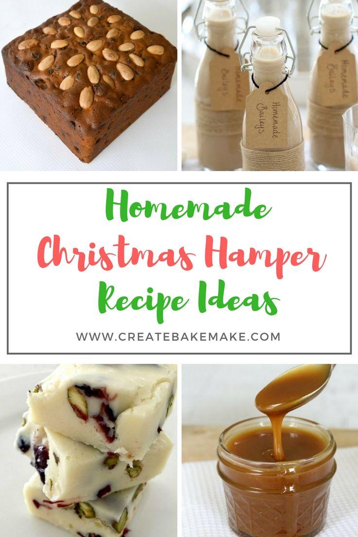 Homemade Christmas Hamper Recipe Ideas