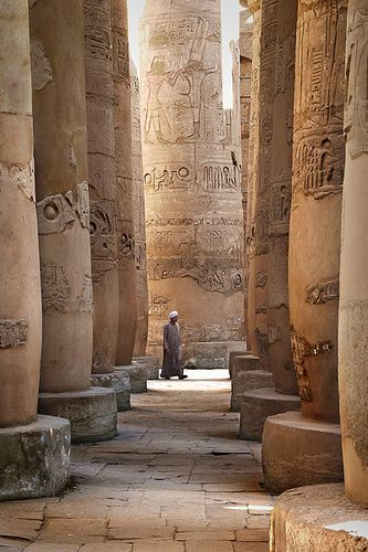 Kamak Temple - Egypt The trip of a lifetime would have to include mysterious Egypt!