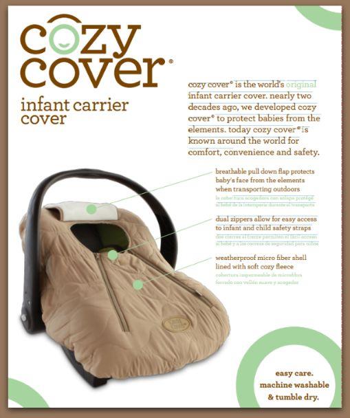 Este cubre huevitos es ideal para salir con tu bebe protejido. En color beige de microfibra por fuera y corderito por dentro.