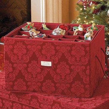 Christmas Ornament Storage Chest