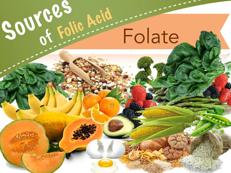Folate Health Benefits: Folic Acid Deficiency and Vitamin B9 Rich Foods. Defines folate and folic acid. Reviews the health benefits and use of folic acid. Lists folate rich foods and provides a list of folate deficiency symptoms. #anemia