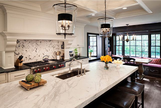 17 best ideas about large kitchen design on pinterest for Entertaining kitchen designs