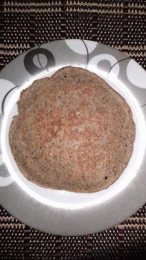 Panqueca com farinha de coco