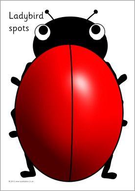 Blank ladybird spots counting & addition sheets (SB107 ... | 276 x 391 jpeg 13kB