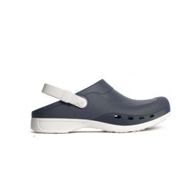 ΣΑΜΠΩ ΜΕ  ΑΠOΣΠΩΜΕΝΟ ΠΑΤΟ NAVY/WHITE Comfortable shoes
