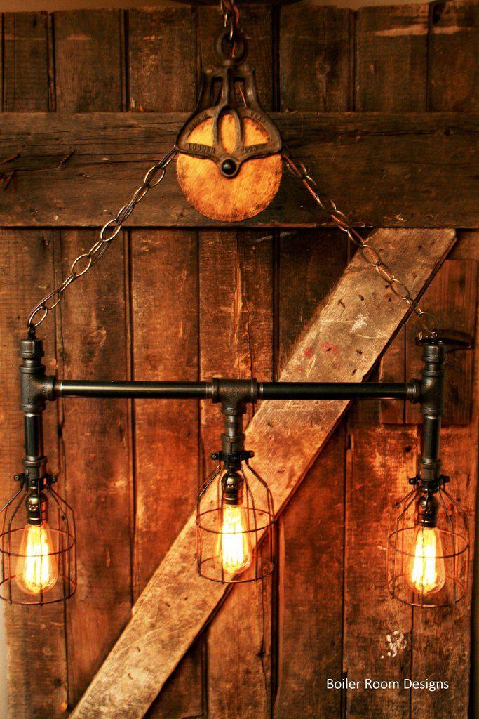 Mason Jar Door Hanger Rustic