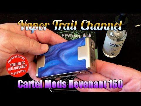 Cartel Mods Revenant 160 & Naked 100 Very Berry Eliquid