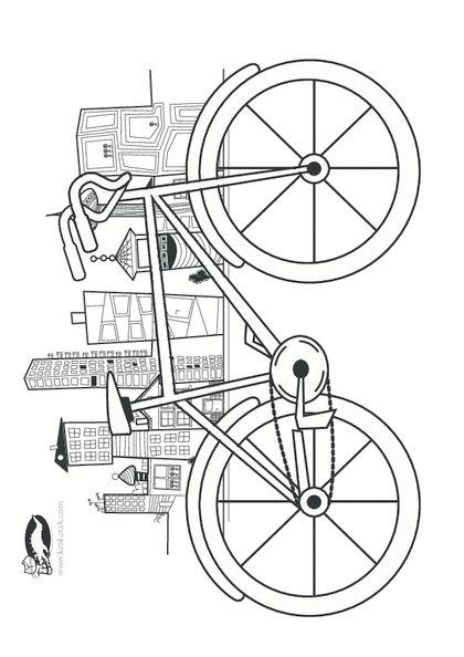 Okulöncesi Sanat ve Fen Etkinlikleri: OkulÖncesi Bisiklet Sanat Etkinlikleri