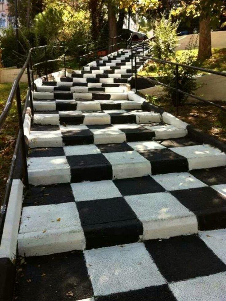 Aşk merdiveni ⚫️⚪️❤️