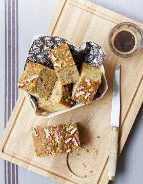 Gâteau noix de pécan et pistaches - ELLE