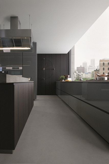 POLIFORM: Artex kitchen, work top in Fossena stone