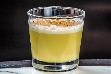 Would You Like a Little Pear in Your Eggnog?: Add a little pear to your nog with Santa's Little Helper.