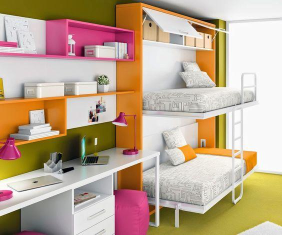 ¿Habitaciones pequeñas? Soluciones de espacio Las camas altas, los sofás cama, así como las mesas abatibles son alguna de las soluciones para los problemas de espacio en habitaciones pequeñas. Algunas notas para solucionar los problemas de espacio en habitaciones pequeñas.
