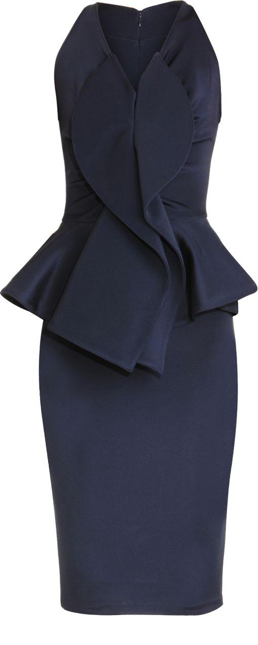 Be still my heart.  Peplum Dress. Givenchy 2013 Barneys