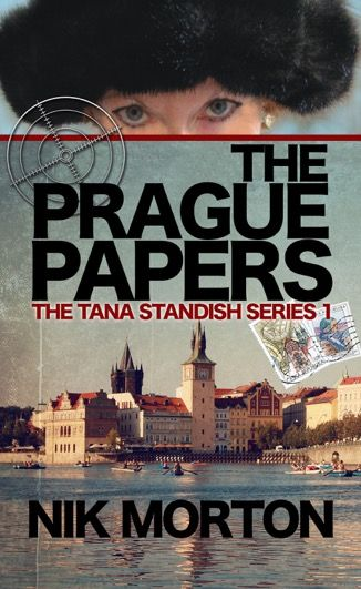 The Prague Papers, 1st Tana Standish psychic spy adventure published by Crooked Cat. E-book