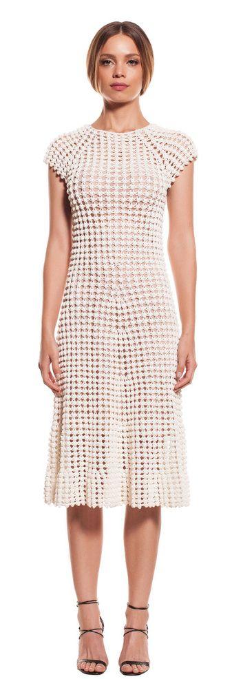 Helen Rödel white crochet dress