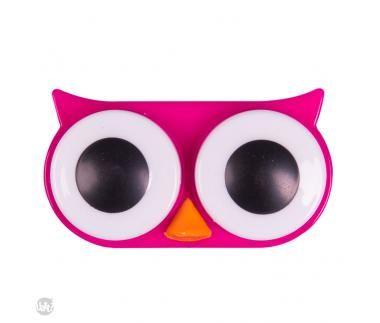 Estojo para lentes - coruja pink | Loja Virtual Uatt?