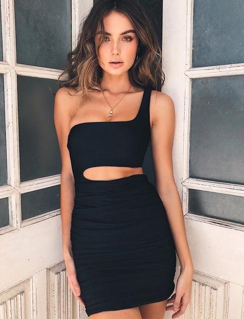 387e40d8bfd Ava Dress - Black   เดรส in 2019   Dresses, Bodycon dress, Sexy ...