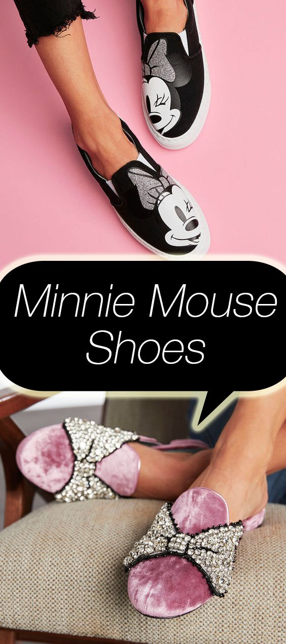 Disney collaborated with a designer on an entire line of flat shoes  inspired by Minnie Mouse