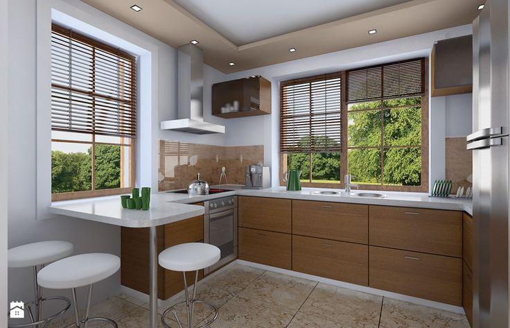 Projekt Julka - zdjęcie od MG Projekt Projekty domów - Kuchnia - Styl Tradycyjny - MG Projekt Projekty domów