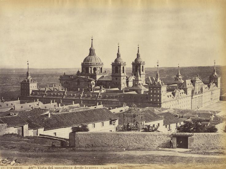 Juan Laurent -  Escorial Palace, Spain, 1870
