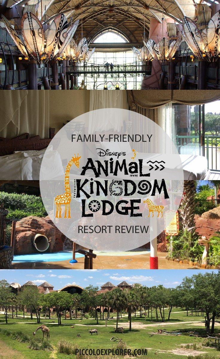 Family-Friendly Resort Review - Disney Animal Kingdom Lodge Orlando