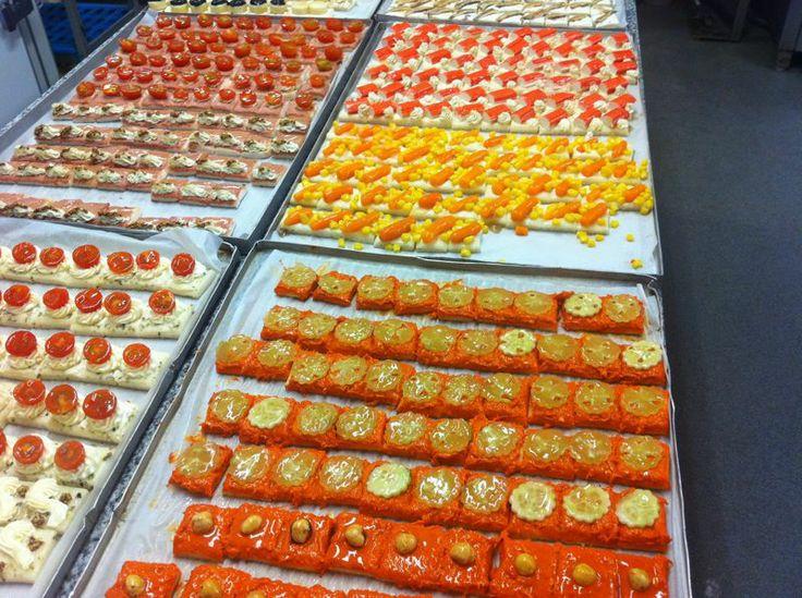 Canapès. Varietat de Canapès per picar. #celebracions #festes #picapica #aperitiu