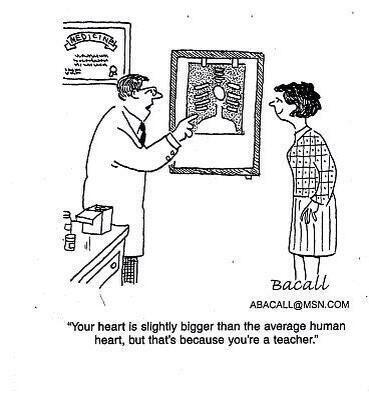 Leerkrachten hebben een groot hart voor kinderen;  Permalink  voor ingesloten afbeelding