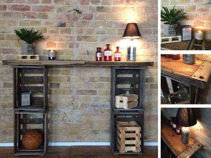 231 best Möbel selbst gemacht images on Pinterest Home ideas - theke für wohnzimmer