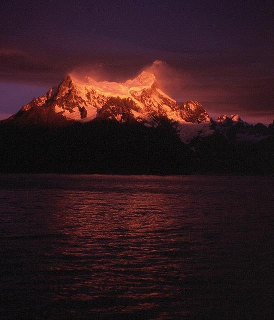 Cerro Paine Grande by Mono Andes, via Flickr