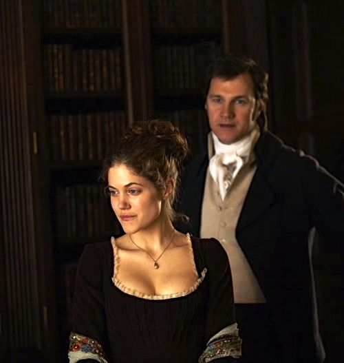 Charity Wakefield as Marianne Dashwood and David Morrissey as Colonel Brandon in Sense and Sensibility (TV Mini-Series, 2008).