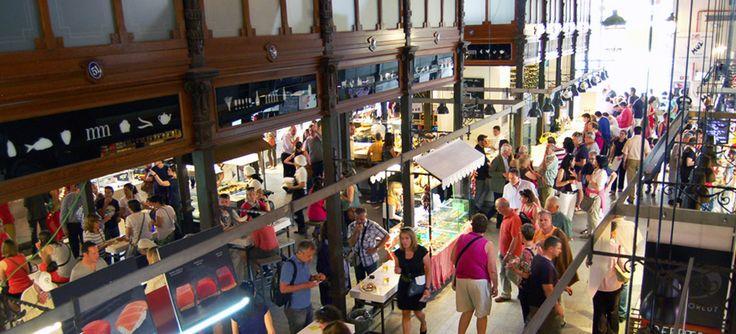 Mercado de San Miguel   Espacio culinario Lunes, Martes, Miercoles, Domingo: de 10:00 a 24:00 horas Jueves, Viernes, Sábado: de 10:00 a 2:00 horas