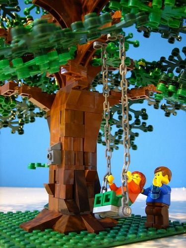 large lego tree chestnut