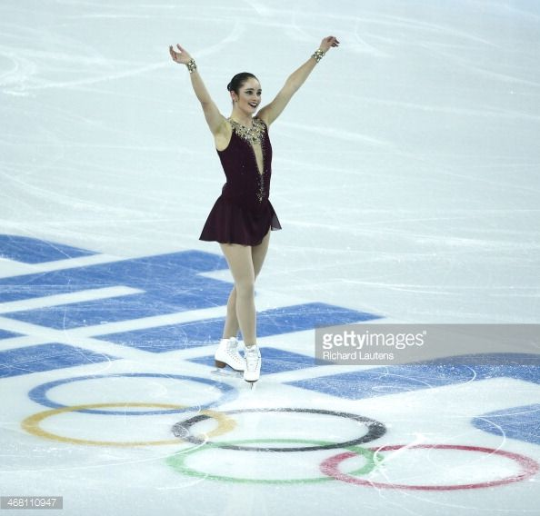 Sochi, Russia - February 9 - SSOLY-At the Winter Olympics in Sochi, the finals of the team figure skating competition was held at the Iceberg. In the women's free program, Canada's Kaetlyn Osmond acknowledges the crowd at the end of her skate. February 9, 2014 (Richard Lautens/Toronto Star via Getty Images)