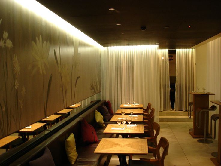 Club Gascon - archive shot of into lighting #restaurant #lighting #design