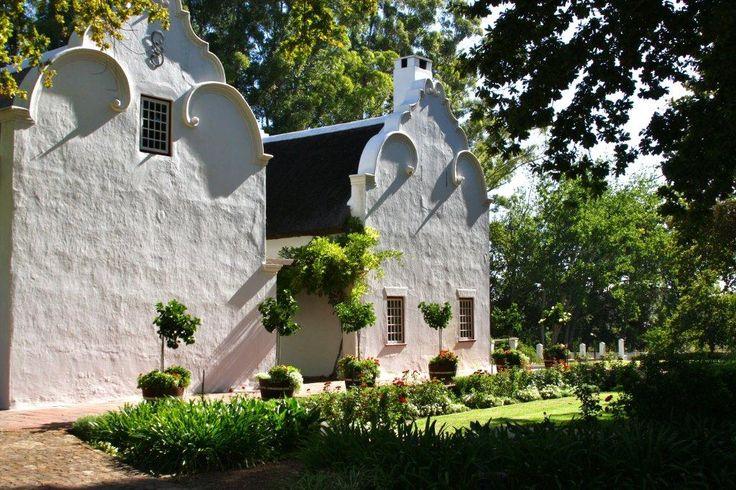 Kapholländische Architektur in Stellenbosch